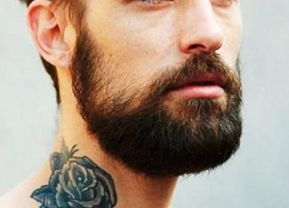 razones para elegir hombre con barba